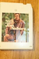 Jim Nabors 8 track Tape Working Tested Country Welcome to the World of