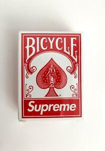 Supreme x Bicycle Mini Playing Cards Deck Spielkarten 2021 FW21 Gift New Sealed