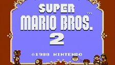 SUPER MARIO BROS 2 (  JEUX NINTENDO NES  ) GAME ONLY