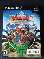 PS2 Dragon Quest VIII: Journey of the Cursed King+FF12 DEMO BOXED/ NEUF/SEALED