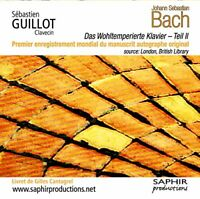 Sebastien Guillot - Bach: Well-Tempered Clavier Vol. 2 (Sebastien [CD]