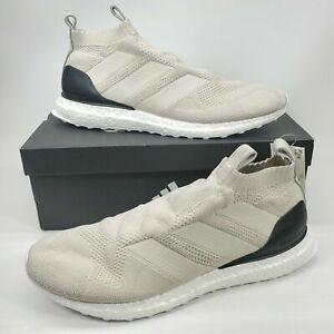 Adidas Ace 16+ Ultra Boost Primeknit PK Clear Brown Beige BB7419 Men 10.5 Shoes