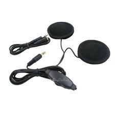 3.5mm Jack Headset MP3 CD Radio Earphone Speaker for Motorcycle Motorbike Helmet