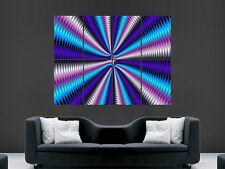 TRIPPY POSTER PSYCHEDELIC HUGE LARGE WALL ART  PICTURE IMAGE