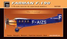 SBS Model 7008 1/72 FARMAN F.190  'Air France' full resin kit