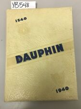 YB548 1940 Dauphin Yearbook St Louis University High Scool St Louis MO