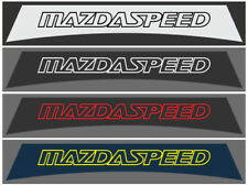SU110 mazda speed mazda 2 3 6 MX-5 RX-8 mps miata sunstrip logo decal stickers