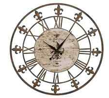 Roman Numeral Wall Clock Large Clocks For Living Room 36 Inches French Style NEW