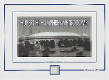 Hubert H. Humphrey METRODOME piece of the ROOF FABRIC, Minneapolis, MN, Vikings