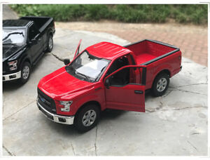 WELLY 1:24 Alloy Car Model For Ford F-150 Raptor Pickup Truck Men's Gift no box