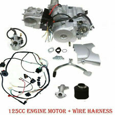 125cc SEMI Auto Engine Motor 3 Speed 3 Forward W/ Reverse ATV Quad 3+1