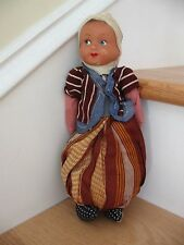 Vtg Antique Handmade Stuffed Genie Rag Doll Cloth Primitive 10� Tall Potpourri