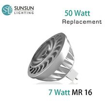 SunSun Lighting MR16 GU5.3 12V LED SPOT LIGHT 2700K 450 LM EQUAL 50 WATTS