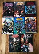 New Avengers Deluxe Hardcover Vol 1 2 3 4 5 6 7 Disassembled HC LOT Bendis