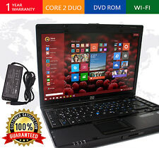 "HP Windows 10 Laptop 6910P Intel Core 2 Duo 4GB RAM 80GB DVDROM 14.1"" Notebook"