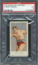 1910 E75 American Caramel Tommy Burns PSA 3 Boxing