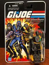 GI Joe 2008 Cobra Android Trooper Bat Canada Card Variant Dela2228