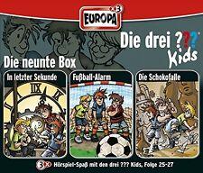 DIE DREI ??? KIDS - 09/3ER BOX (FOLGEN 25-27) 3 CD NEU