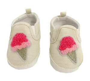 Carter's Ice Cream Baby Shoes Size 3-6 Months