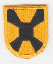 Army Beret Patch: Golden Knights Parachute Team - cut edge