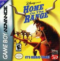 Home on the Range - Nintendo Game Boy Advance GBA
