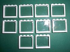 Lego, Fenster, weiss, 1x4x3, 10 Stück, 10197, 10185, 10218, 10224**