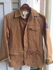 Polo Ralph Lauren Rugby Saratoga Lake Indian Canvas Work Jacket New