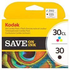 Kodak 30 Black & Colour Ink Cartridges - For Kodak Printers - Genuine