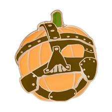 Official WWE Authentic Mankind Limited Edition Pumpkin Pin Black