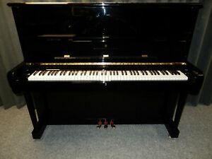 STEINWAY MODEL V UPRIGHT PIANO. STUNNING CONDITION, AROUND 25 YEARS OLD.