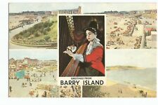 Postcard Greetings from Barry Island Wales  (A33)