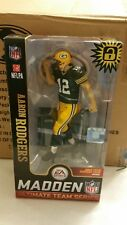 Aaron Rodgers McFarlane EA Sports Madden NFL 19 Variant GB Packers Fast Shipping