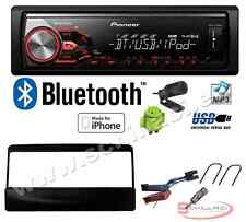 Pioneer MVH-390BT autoradio USB / bluetooth + Kit montaggio per Ford Focus / Co