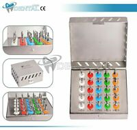 25 Pcs Conical Drill Kit with Stopper Dental Conical Implant Surgical Drill Kit