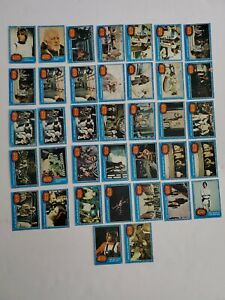 Lot of 37 1977 Topps Star Wars series 1 blue trading cards