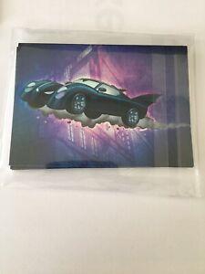 """DC Batman the Legend """"Batmobile"""" Foil Insert Complete Set BM1 - BM9"""