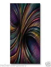 Metal Wall Art Sculpture Painting Contemporary Home Decor 'Vivid Motion'