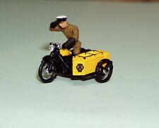 P&D Marsh OO Gauge Z104 1950's AA motorcycle patrol PAINTED & finished