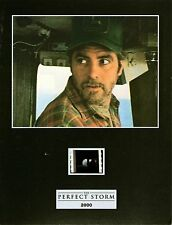 """THE PERFECT STORM  Movie 7""""x 5"""" SENITYPE FILM CELL + PHOTO-George Clooney"""