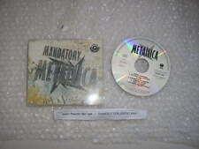 CD metal Metallica-mandatory (7 chanson) promo MCD vertigo