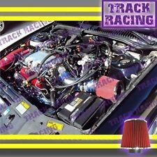 97-05 PONTIAC GRAND AM MALIBU ALERO 3.1 3.1L 3.4 3.4L V6 AIR INTAKE Blue Red TB