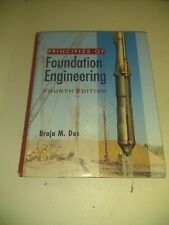 Principles of Foundation Engineering by Braja Das 1999 Hardcover Fourth Edition