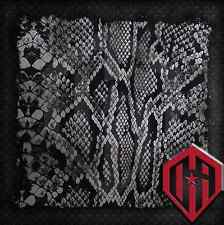 HYDROGRAPHIC WATER TRANSFER HYDRODIPPING FILM DIP SNAKE SKIN BLACK WHITE 2M