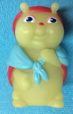 Vtg Hasbro Playskool Glow Worm Glo Friends Glo Granny Finger Puppet Glo In Dark