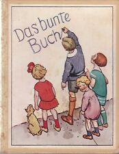 Das bunte Buch, kleine lustige Erzählungen aus dem Kinderleben von Fritz Strauß