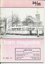 TRAM MAGAZINE n° 34/35 - 1984   ( STIC ) tramways de Charleroi