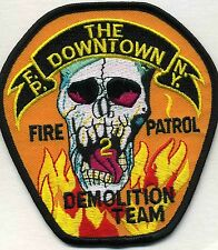 "New York City  Fire Patrol 2  ""Demolition Team""  (4.25"" x 4.5"" size) fire patch"