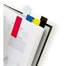 5 x Magnetic Colourful Bookmarks Set of 5 Assorted Page Note Markers