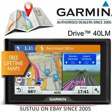 Garmin Drive 40LM 4.3' GPS Sat Nav¦Lifetime UK Western Europe Maps¦Driver Alerts