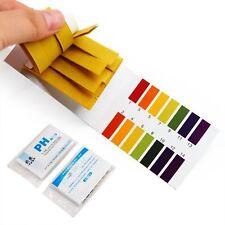 160x pH Indicator Test Strips 1-14 Laboratory Paper Litmus Tester Urine Saliva